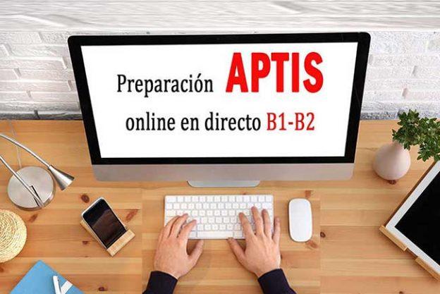 cursos de preparación de Aptis online